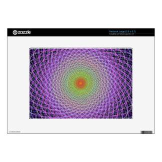 Colorful fractal skins for large netbooks