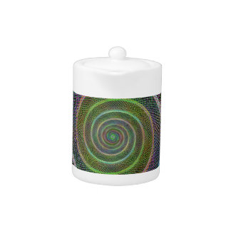 Colorful fractal spiral
