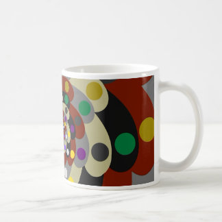 Colorful Fractal Style Coffee Mug