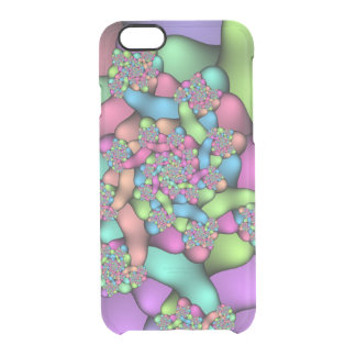 Colorful Fractals iPhone 6 Clearly™ Deflector Case