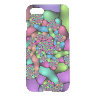 Colorful Fractals iPhone 7 Clearly™ Deflector Case