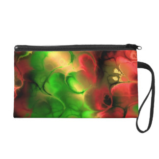 Colorful Fractals TPD Wristlet Clutch