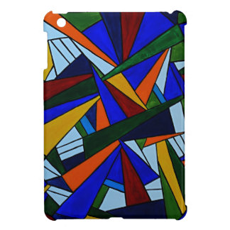 Colorful Fragments iPad Mini Covers