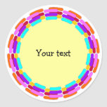 Colorful Frame Sticker
