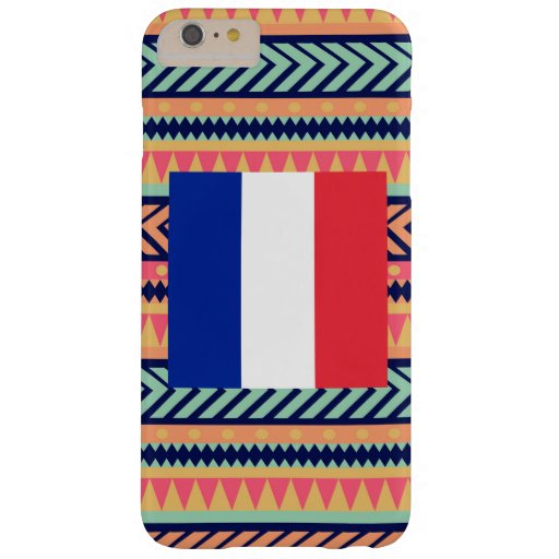 Colorful France Flag Box Barely There iPhone 6 Plus Case