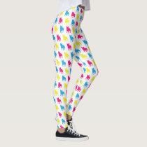 Colorful French Bulldog Leggings