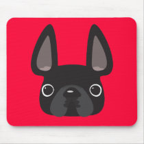 Colorful French Bulldog Mouse Pads