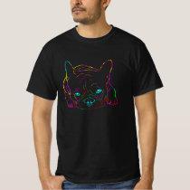 Colorful French Bulldog T-Shirt