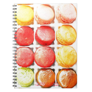 Colorful French Macarons Notepad Notebook