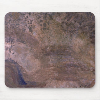 Colorful Fresco Fragment Mouse Pad