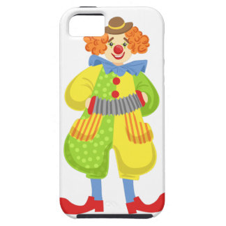 Colorful Friendly Clown Playing Accordion In Class iPhone SE/5/5s Case