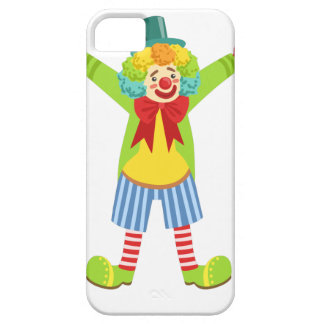Colorful Friendly Clown With Multicolor iPhone SE/5/5s Case