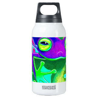 Colorful Frog Insulated Water Bottle