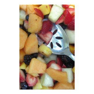 Colorful Fruit Assortment Personalized Stationery