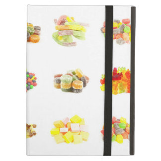 Colorful Fruit Flavored Candy Isolated Background iPad Air Cover