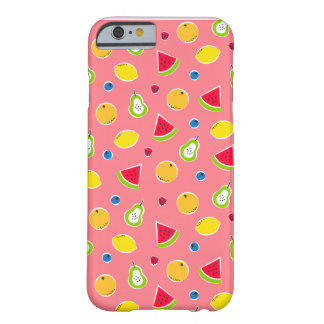 Colorful fruit pattern iPhone case