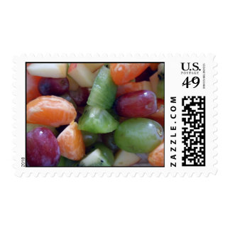 Colorful fruit postage