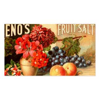 Colorful Fruit Salt Ad Business Card
