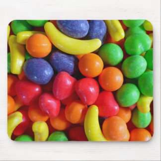 Colorful Fruit Shaped Candy Mouse Pad