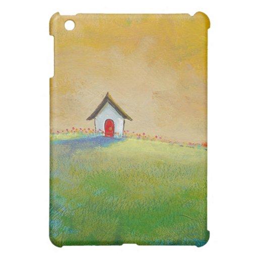Colorful fun art happy landscape Living in Color iPad Mini Cover