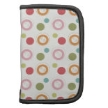 Colorful Fun Circles and Polka Dots Pattern Planners