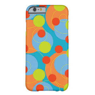 Colorful Fun Circles & Polka Dots Fruity Cute Case Barely There iPhone 6 Case
