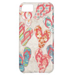 Colorful & fun flip flop summer fun! case for iPhone 5C