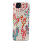 Colorful & fun flip flop summer fun! iPhone 4 cover