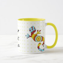 Colorful Fun Gecko Lizard Mug