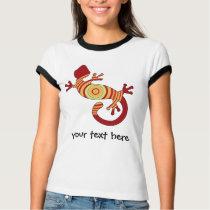 Colorful Fun Gecko Lizard T-Shirt