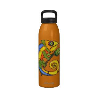 Colorful Fun Lizard Branch Drinking Bottles
