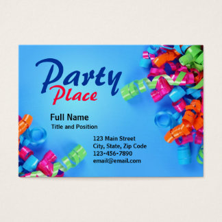Colorful Fun Party Present Card
