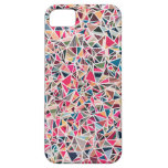 Colorful Fun Pink Pattern Iphone 5/5s Case at Zazzle