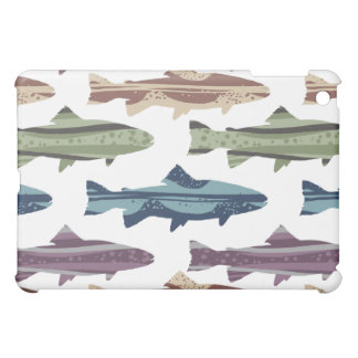 Colorful Fun Trout Fish Pattern Cover For The iPad Mini