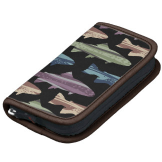 Colorful Fun Trout Fish Pattern Planner