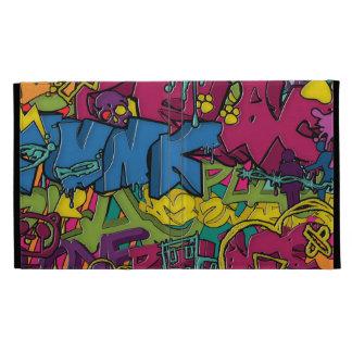 Colorful, funky and Urban Graffiti art iPad Folio Cover