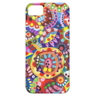 Colorful Funky Art iPhone 5 Case