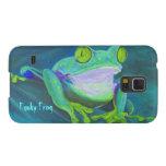 Colorful funky frog Samsung Galaxy Nexus case