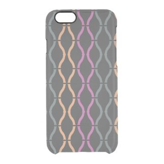 Colorful Funky Retro Geometric Pattern 3a