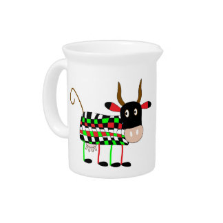 Colorful Funny COW PITCHER or Large Creamer