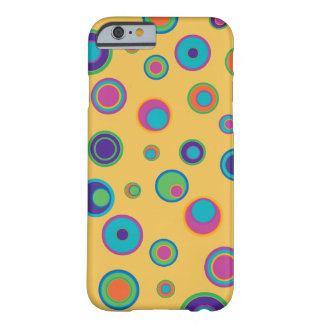 colorful funny dots in dots pattern 2 barely there iPhone 6 case