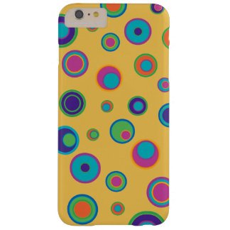 colorful funny dots in dots pattern 2 barely there iPhone 6 plus case