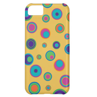 colorful funny dots in dots pattern 2 iPhone 5C cases