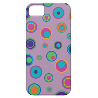 colorful funny dots in dots pattern 3 iPhone 5 case