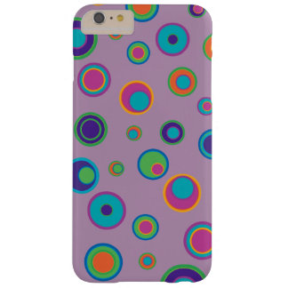 colorful funny dots in dots pattern 3 barely there iPhone 6 plus case