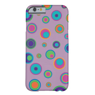 colorful funny dots in dots pattern 3 barely there iPhone 6 case