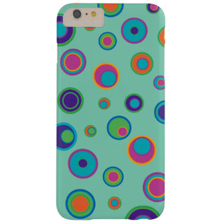 colorful funny dots in dots pattern barely there iPhone 6 plus case