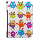 Colorful Funny Monster Party Creatures Bash Case For The Kindle