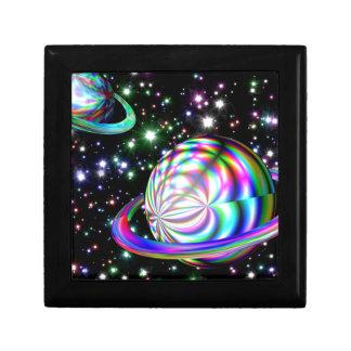 colorful galaxy keepsake boxes