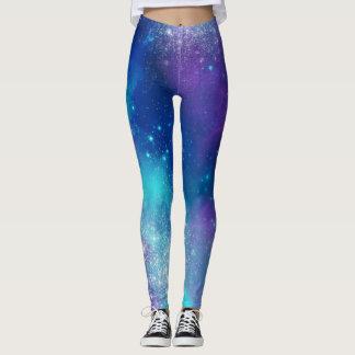 Colorful Galaxy Leggings